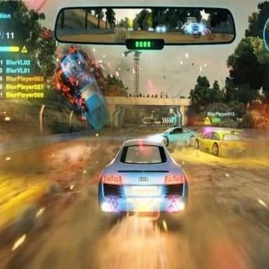 Blur Araba Yarışı dizayn ticari oyun makineleri