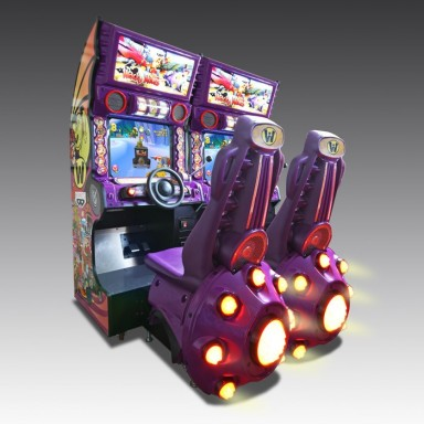 Wacky Races Araba dizayn ticari oyun makineleri